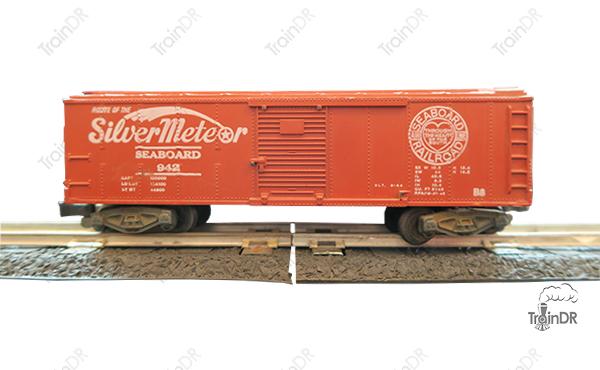 American Flyer Box Car 942 Silver Meteor Seaboard