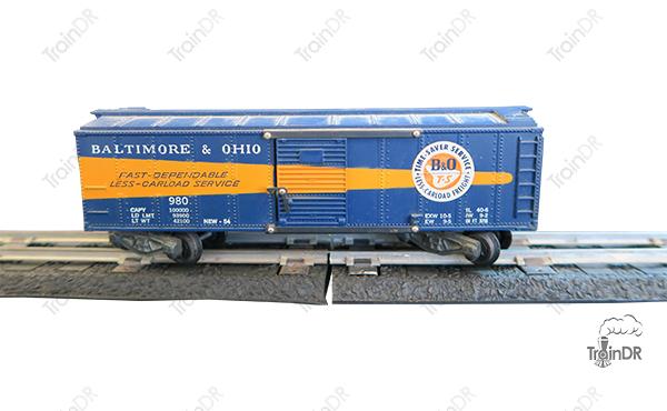 American Flyer Box Car 980 Baltimore & Ohio