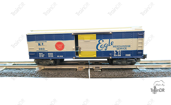 American Flyer Box Car 983 Missouri Pacific Eagle