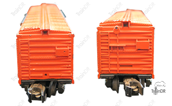 American Flyer Box Car 984 New Haven (Front & Rear View)