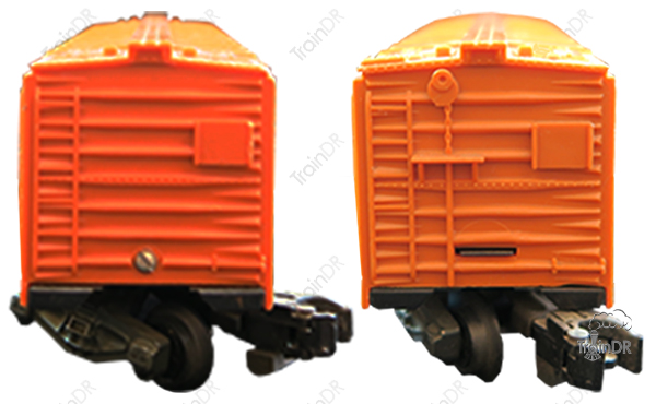 American Flyer Refrigerator Car 802 Illinois Central (Front & Rear View)