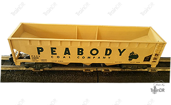 American Flyer 3 Bay Hopper 24230 Peabody Coal Company