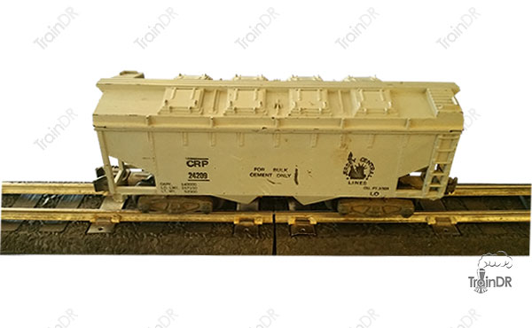 American Flyer Covered Hopper 24209 Jersey Central Lines