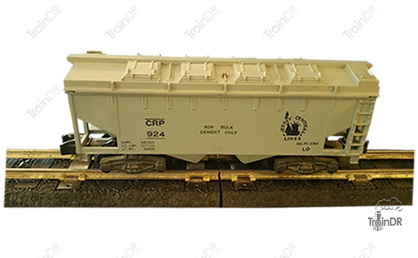 American Flyer Covered Hopper 924 Jersey Central Lines