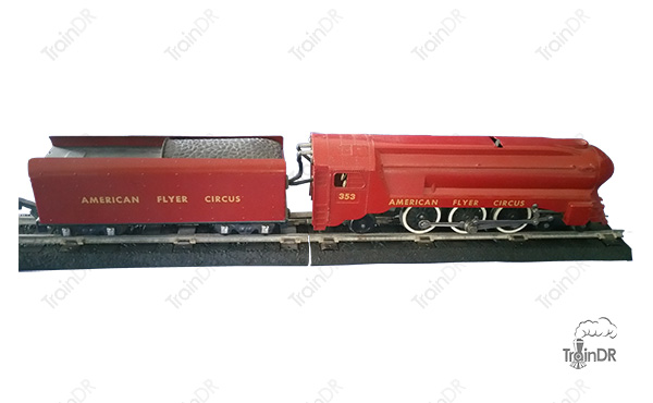 American Flyer Locomotive 353 Circus