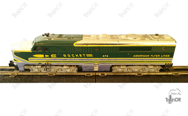 American Flyer Locomotive 474 Rocket