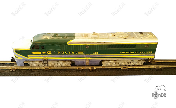 American Flyer Locomotive 475 Rocket