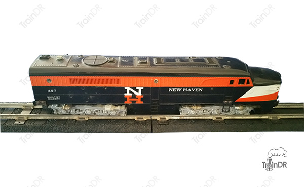American Flyer Locomotive 497 New Haven