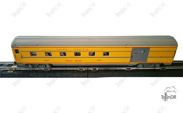 American Flyer Passenger Car 24837 Union Pacific Star Dust