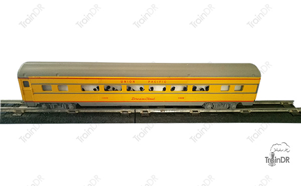 American Flyer Passenger Car 24838 Union Pacific Dream Cloud
