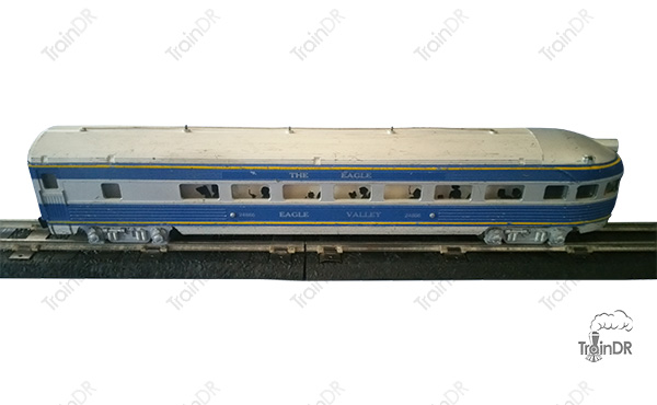 American Flyer Passenger Car 24866 The Eagle Missouri Pacific