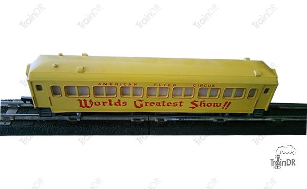American Flyer Passenger Car 649 Circus