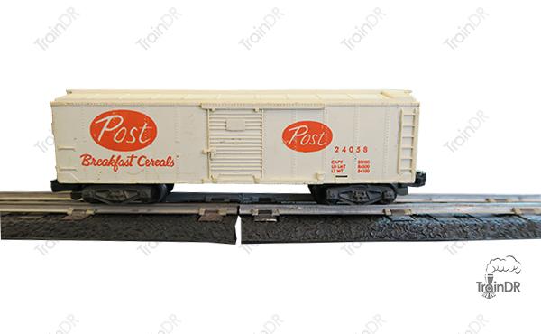American Flyer Box Car 24058 Post