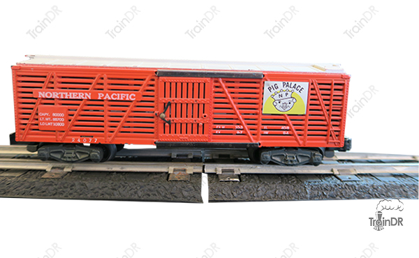 American Flyer Stock Car 24077 Northern Pacific Pig Palace