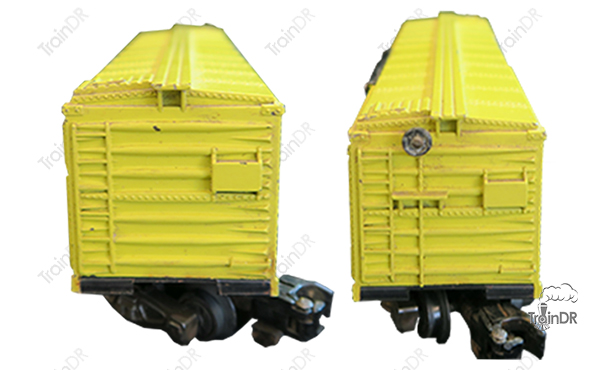 American Flyer Box Car 937 MKT (Front & Rear View)