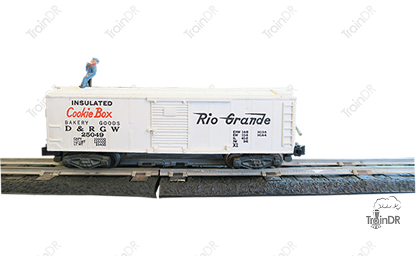 American Flyer Box Car Cookie Box 25049 Rio Grande