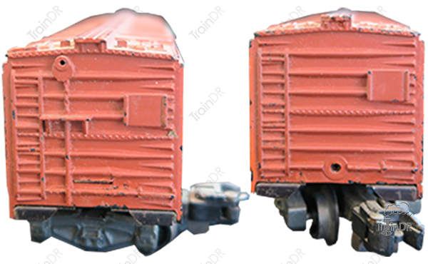 American Flyer Refrigerator Car 24426 The Rath Packing Company (Front & Rear View)