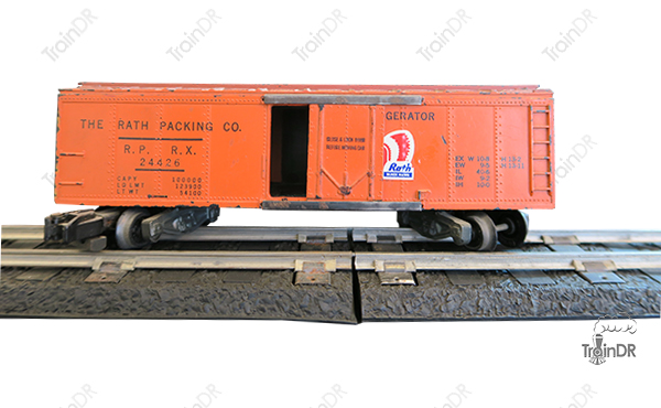 American Flyer Refrigerator Car 24426 The Rath Packing Company