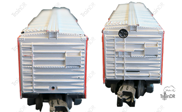 American Flyer Stock Car 24077 Northern Pacific (Front & Rear View)