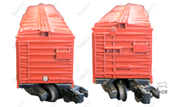 American Flyer Box Car 24047 Great Northern (Front & Rear View)