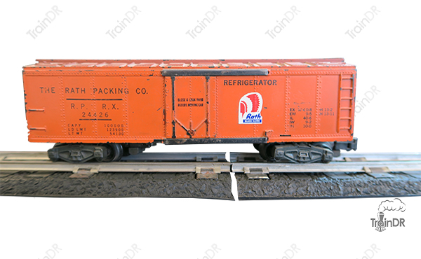 American Flyer Refrigerator Car 24426 The Rath Packing Co.