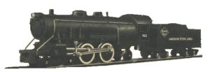 Gilbert American Flyer Number 302 Locomotive